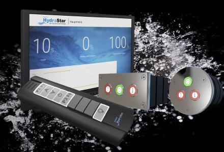 Für die Bedienung der Turbinenschwimmanlage HydroStar bietet BINDER neben einem Piezo-Taster und einer Fernbedienung auch ein separat erhaeltliches Touch-Display an
