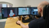 Erstellung der Augmented Reality Figur für die Holidays AR App
