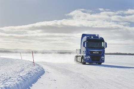 Testing Brakes in Arjeplog/Sweden