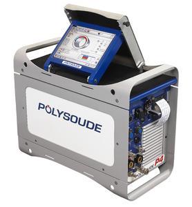Neuheit auf der TUBE: P4 - Orbital-Schweißstromquelle mit XXL Touchscreen als interaktive Mensch-Maschine-Schnittstelle