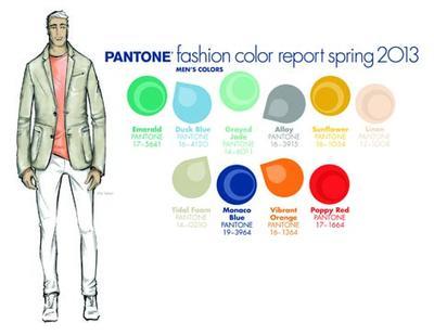 Pantone präsentiert den Fashion Color Report für das Frühjahr 2013
