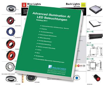 Advanced illumination Machine-Vision-Lighting Sourcebook 2011 - Spot Lights, Broad Area Linear Arrays, Back Lights, Surface Mount, Line Lights, Linear Arrays, Ring Lights, Bright Field, Dark Field, Diffuse Lights, Dome, Axial Diffuse Illuminators, Strobe Controllers