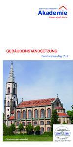 """Die Bernhard-Remmers-Akademie lädt auch 2016 zum Bildungsklassiker """"Info-Tag: Gebäudeinstandsetzung"""" in bundesweit 17 Städten ein. Bild: Bernhard-Remmers-Akademie, Löningen"""