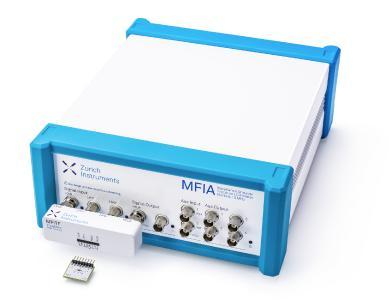 MFIA Impedance Analyzer with MFITF Impedance Test Fixture