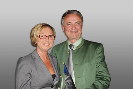 Karin Steinberger, Key Account Manager Sales Distribution Vishay, Slobodan Puljarevic, Präsident und CEO EBV