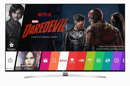 Bild LG Netflix Recommanded TV Programm