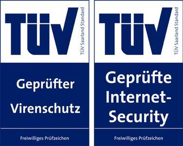G DATA TUEV Pruefsiegel 2008