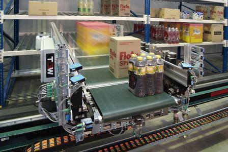 Last June TGW presented its fully automated material handling solution for grocery retail chains (Source: TGW Logistics Group GmbH)