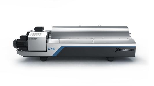 Flottweg is presenting its latest development, the X7E, at the IFAT 2020 in Munich.