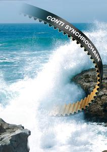 The ContiTech Power Transmission Group expands its range of lengths for the high-performance CONTI SYNCHROCHAIN® timing belt. (Photo: ContiTech)