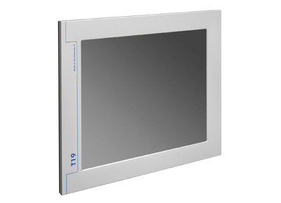 T19-Slim-VGA: and flat industrial display with flexible mounting