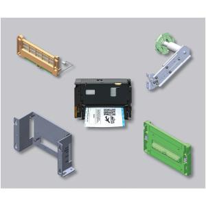 Bildet OEM Thermodrucker Wünsche individuell ab: Neuer High Performance Drucker von GeBE in komplett modularem Aufbau. Hohe Auflösung