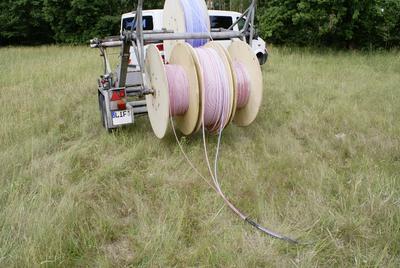 REHAU hat am Standort Erlangen eine brandneue Teststrecke für Hochgeschwindigkeits-Breitband-Kabelrohrsysteme in Betrieb genommen.