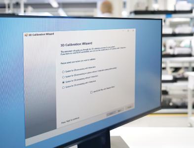 SCANLABs 3D-Kalibrier-Assistent