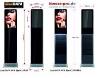 LionDATA AVX DS Stele 21AST und 21ASTPH