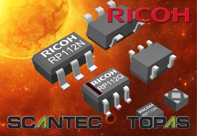 Ricoh Semiconductor Support Centre launches the RP112 Series 150mA High-End Low Noise Voltage Regulator