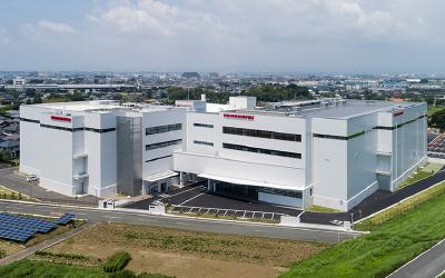 Hamamatsu Photonics announces the completion of a new factory building at the Shingai factory site