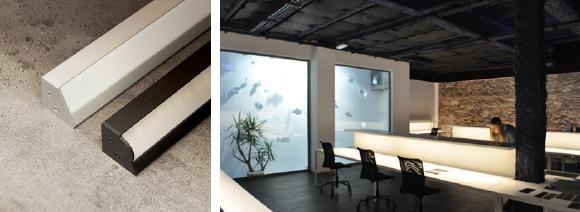 Die VESTA ist eine lineare LED Anbauleuchte, die für den Einsatz an Unterschränken entwickelt wurde und qualitativ hochwertiges Licht auf Arbeitsflächen liefert