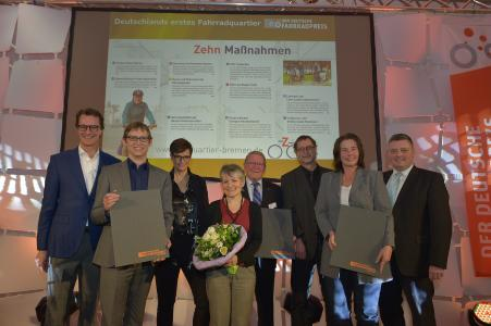 Der Deutsche  Fahrradpreis (C) Roland Breitschuh