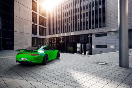 World premiere TECHART for Porsche 911 Carrera 4S