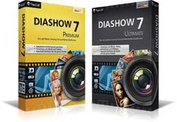 AquaSoft DiaShow 7 Editionen