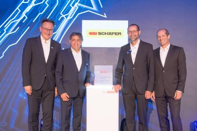 "SSI Schaefer receives the ""Bosch Global Supplier Award 2019"""