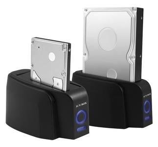 """ICY BOX IB-110: for 2.5"""" HDDs as well as for 3.5"""" HDDs"""