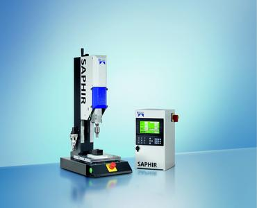 The SAPHIR ultrasonic welding machine has been designed to meet the most exacting requirements in the field of plastic bonding.