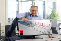Hagen Schumann, Geschäftsführer, Klinkhammer Intralogistik - Auch in diesem Jahr wurde der Intralogistik Spezialist Klinkhammer erneut mit dem Top Consultant-Siegel 2021 ausgezeichnet. Damit zählt das Unternehmen zu den besten Mittelstandsberatern Deutschlands.