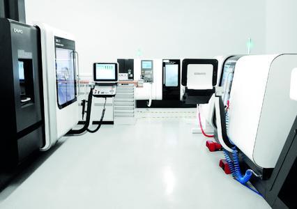 Hochmoderne Produktionsräume am neuen Standort