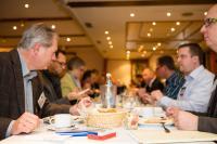 Beim wöchentlichen Unternehmerfrühstück der BNI-Teams lernen sich die Mitglieder und Gäste besser kennen - die wichtigste Voraussetzung für eine persönliche Weiterempfehlung / Foto: Simone Reukauf, foto44