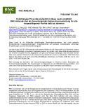 [PDF] Pressemitteilung: Unabhängige Proxy-Beratungsfirma Glass Lewis empfiehlt RNC-Aktionäre bei der bevorstehenden Aktionärsversammlung für alle vorgeschlagenen Punkte dafür zu stimmen