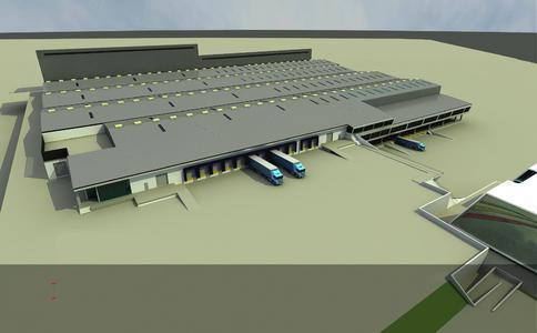 Neues Cargo-Terminal am Flughafen in Addis Abeba