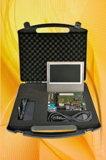 Starterkit für nanoRISC-Prozessormodule mit TI AM335x