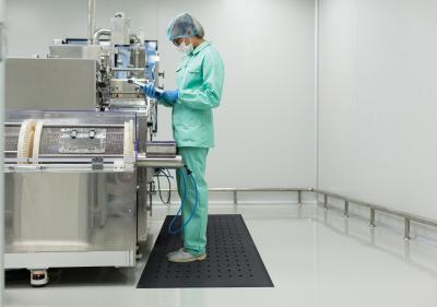Hygimat ergonomische Arbeitsplatzmatte für das Gesundheitswesen