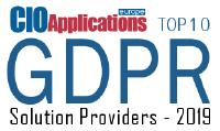 Top 10 GDPR Solution Provider award