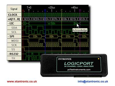 USB Logic Analyser with Free Trial Software