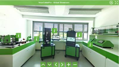 Neuer virtueller Showroom der Marke VisioCablePro®
