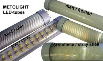 verschiedene METOLIGHT LED-Röhren