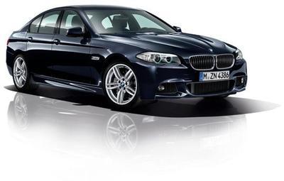The BMW 5 Series Saloon