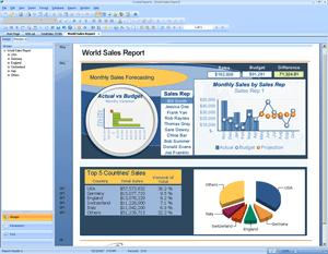 Interactive Crystal Reports can be shared economically with partners over the Web or embedded in ISV commercial applications with the new royalty-free runtime distribution license