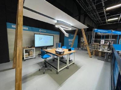 Lernraum für Bildungseinrichtungen: Am 29. April wird live aus dem Conrad Makerspace in Hürth gestreamt