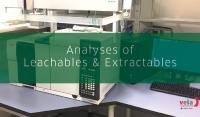 VelaLabs – A Tentamus Company now offers Analyses of Leachables & Extractables