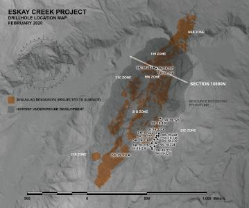 Skeena Intersects 22.59 g/t AuEq over 14.33 metres at Eskay Creek