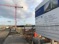 Die vier Koblenzer Standorte des Landesuntersuchungsamts (LUA) werden in einem Neubau zusammengefasst. Nach einer intensiven Planungsphase hat jetzt der Bau begonnen. Bild: Hitzler Ingenieure