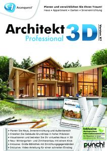 komfortable 3d planung f r haus garten und wohnung mit architekt 3d x7 avanquest deutschland. Black Bedroom Furniture Sets. Home Design Ideas