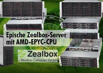 Neue Server von Zealbox