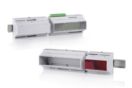 Mit CombiNorm-Control bietet BOPLA ein neues Tragschienengehäuse an, dessen Formfaktor der Norm DIN 43880 für Installationseinbaugeräte entspricht