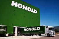 Honold Halle mit LKW