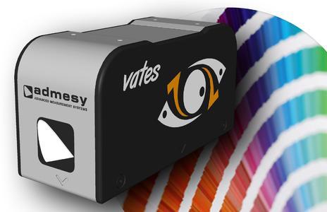 Mit dem leistungsfähigen Farb- und Glanzmessgerät ADM-Vates sind bis zu 4000 Messungen pro Sekunde möglich.